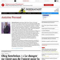 Biographie de Antoine Perraud