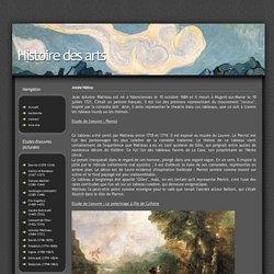 Antoine Watteau : Histoire des arts
