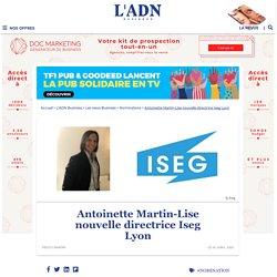 Nouvelle Directrice pour l'ISEG Lyon