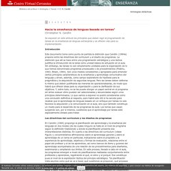 Antologías de textos de didáctica del español. El enfoque por tareas (I). Christopher N. Candlin (1 de 9).