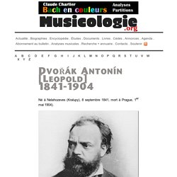 Antonín Dvořák (1841-1904) - musicologie.org