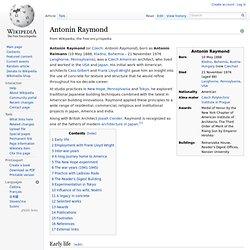 Antonin Raymond