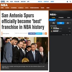 San Antonio Spurs become best team in NBA history