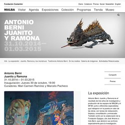 Antonio Berni Juanito y Ramona