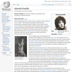 Antonio Gasalla - Wikipedia