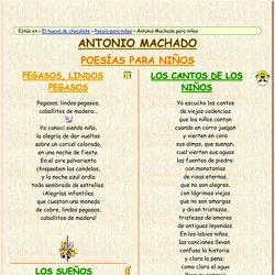Poemas de Antonio Machado para niños