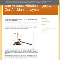 Car Crash Lawyer San Antonio – A Fast Gateway to Help You in Your Odd Hours