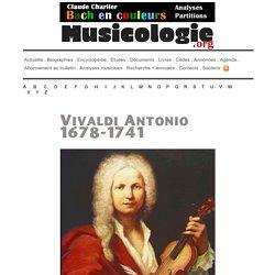 Antonio Vivaldi (1678-1741) - musicologie.org