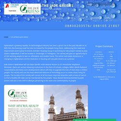 The Antriksh Jade Greens Hyderabad