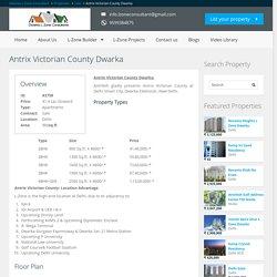 Antrix Victorian County, L Zone Dwarka
