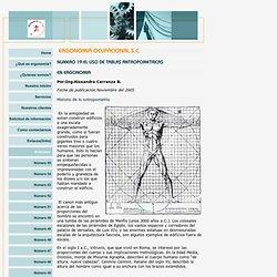 Uso de tablas antropométricas en ergonomía