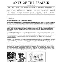 Ants of the Prairie › 10. Bat Tower