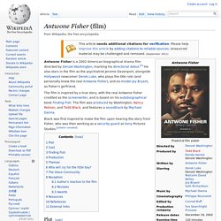 Antwone Fisher (film)