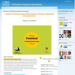 Wirtualny Festiwal Antydyskryminacyjny