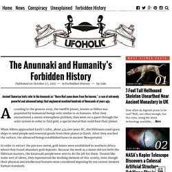 The Anunnaki and Humanity's Forbidden History
