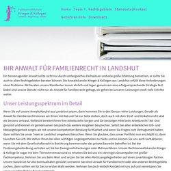 Anwalt Familienrecht in Landshut