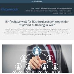 Anwalt für myWorld Kündigung in Wien