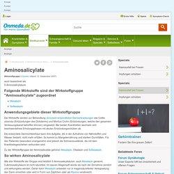 Aminosalicylate: Medikamente, Wirkstoffe, Anwendungsgebiete, Wirkung - Onmeda: Medizin & Gesundheit