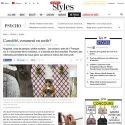 Anxiété, angoisse, crise de panique, phobie scolaire: comment en sortir? - L'Express Styles