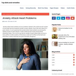 Anxiety Attack Heart Problems