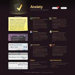 Anxiety - Lightweight To-do Management