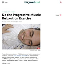 How to Reduce Anxiety With Progressive Muscle Relaxation