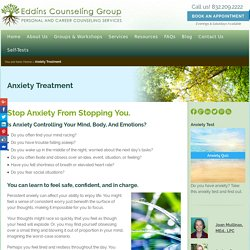 Anxiety Treatment Counseling - Eddins Counseling - Houston