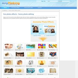 AnyMaking - Photo editing online, Free photo edit and Fun photo effects