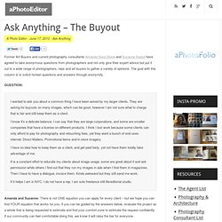 Ask Anything – The Buyout