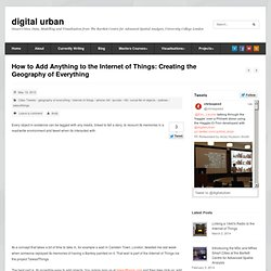 How to Add Anything to the Internet of Things: Cr
