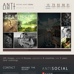 ANTILIMIT | creative imagery by Eric M Gustafson