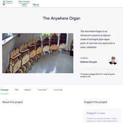 The Anywhere Organ by Matthew Borgatti
