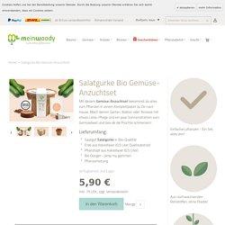 Gemüse-Anzuchtset Bio-Salatgurke zum selbst pflanzen von meinwoody.de