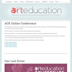 AOE Online Conference
