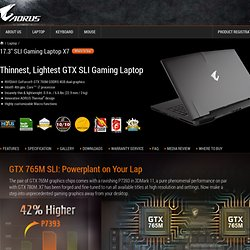 Gaming Laptop X7