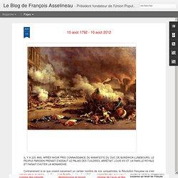 Le blog de François Asselineau
