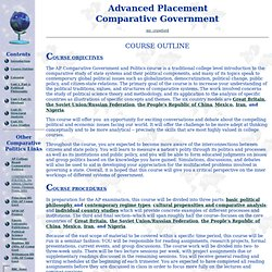 AP Comparative Govt Outline