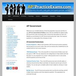 AP* Practice Exams