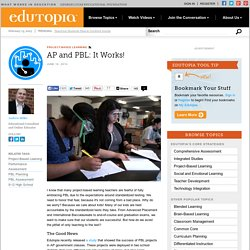AP and PBL: It Works!