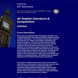 AP Syllabus