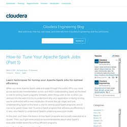 Tune Your Apache Spark Jobs (Part 1) - Cloudera Engineering Blog