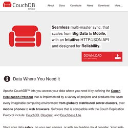 Apache CouchDB: The Apache CouchDB Project