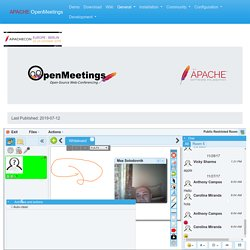 Apache OpenMeetings - Home