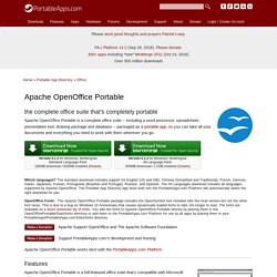 Apache OpenOffice Portable