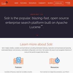 Lucene - Apache Solr