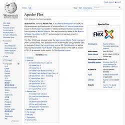 Adobe Flex - Wiki
