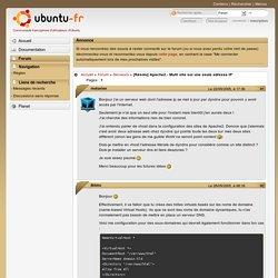 [Résolu] Apache2 - Multi site sur une seule adresse IP (Page 1) / Serveurs / Forum Ubuntu-fr.org
