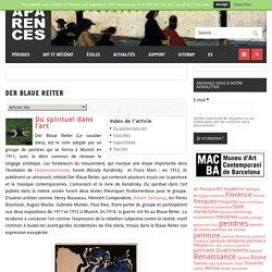 Der Blaue Reiter – Aparences: Histoire de l'Art et actualité culturelle