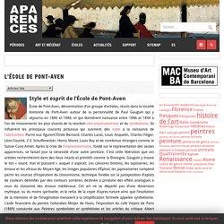 Aparences: Histoire de l'Art et actualité culturelle:L'école de Pont-Aven