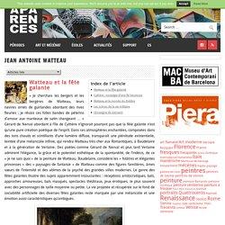 Art, histoire et actualité culturelle » Jean Antoine Watteau